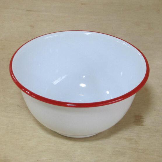 sosion夢工場のままごとキッチン用ホーローボール 赤縁