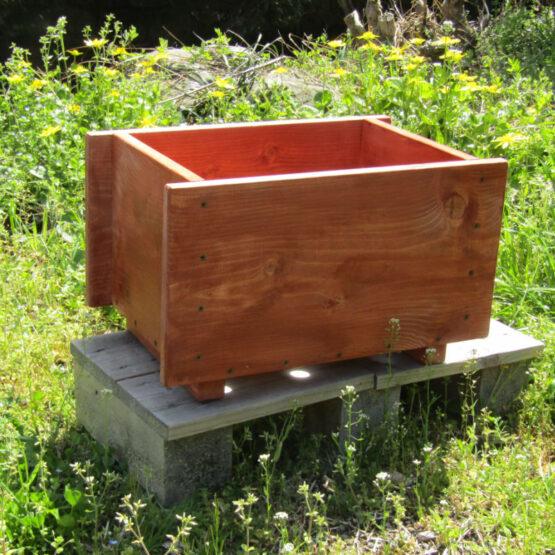 手作りの木製プランター